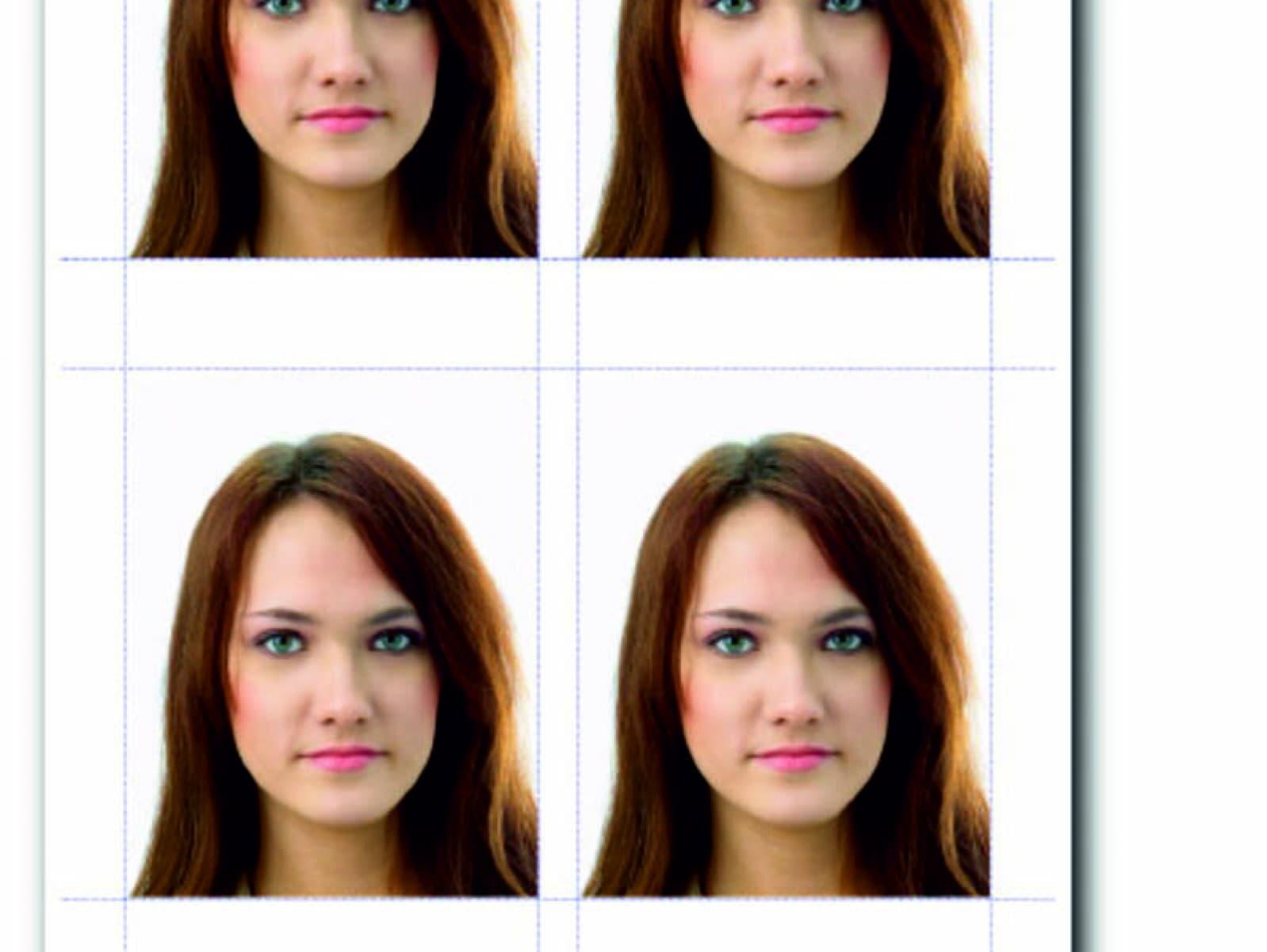 Макияж на фото для паспорта